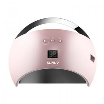 UV/LED Лампа для маникюра Sun 6 48 Вт (розовый)
